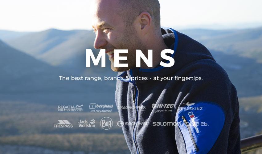 Men's Outdoor Hiking, Walking & Camping Gear