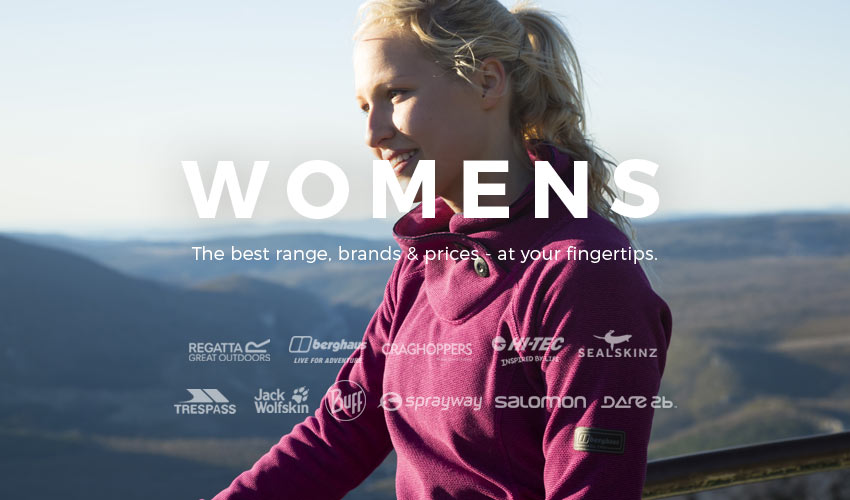 Women's Outdoor Hiking, Walking & Camping Gear