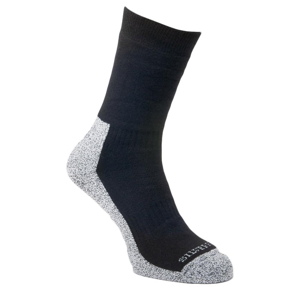 Silverpoint Comfort Hiker Socks-black-6 - 8