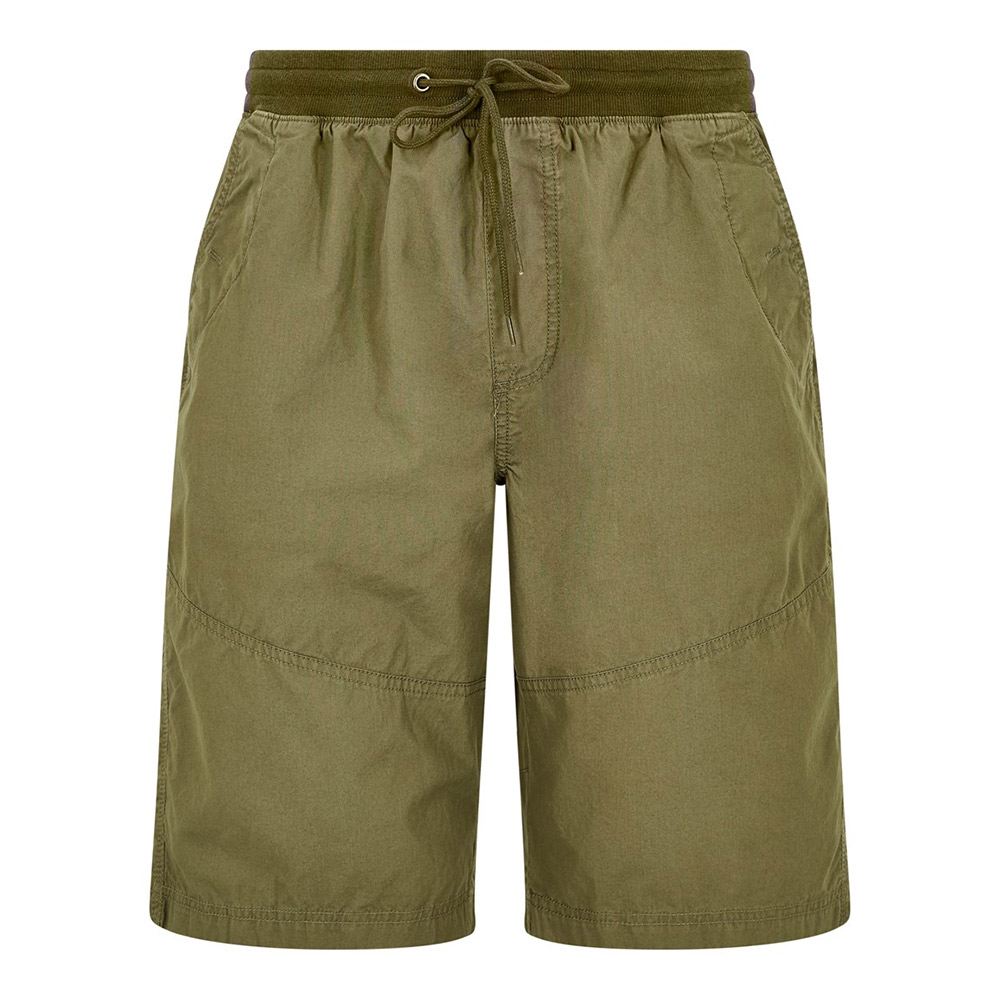 Weird Fish Mens Murrisk Casual Shorts-Olive