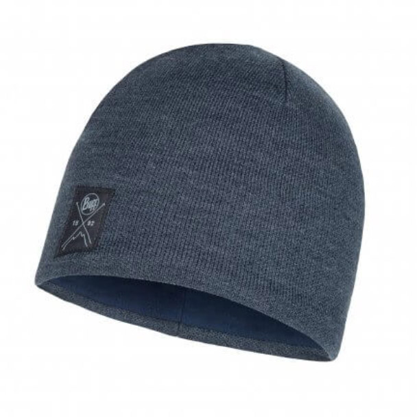 Buff Mens Knitted Polar Hat-navy