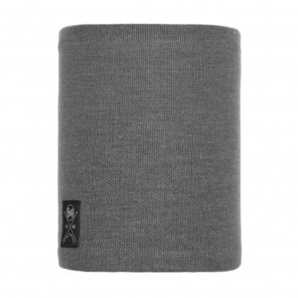 Buff Knitted Polar Neckwarmer-neo Grey
