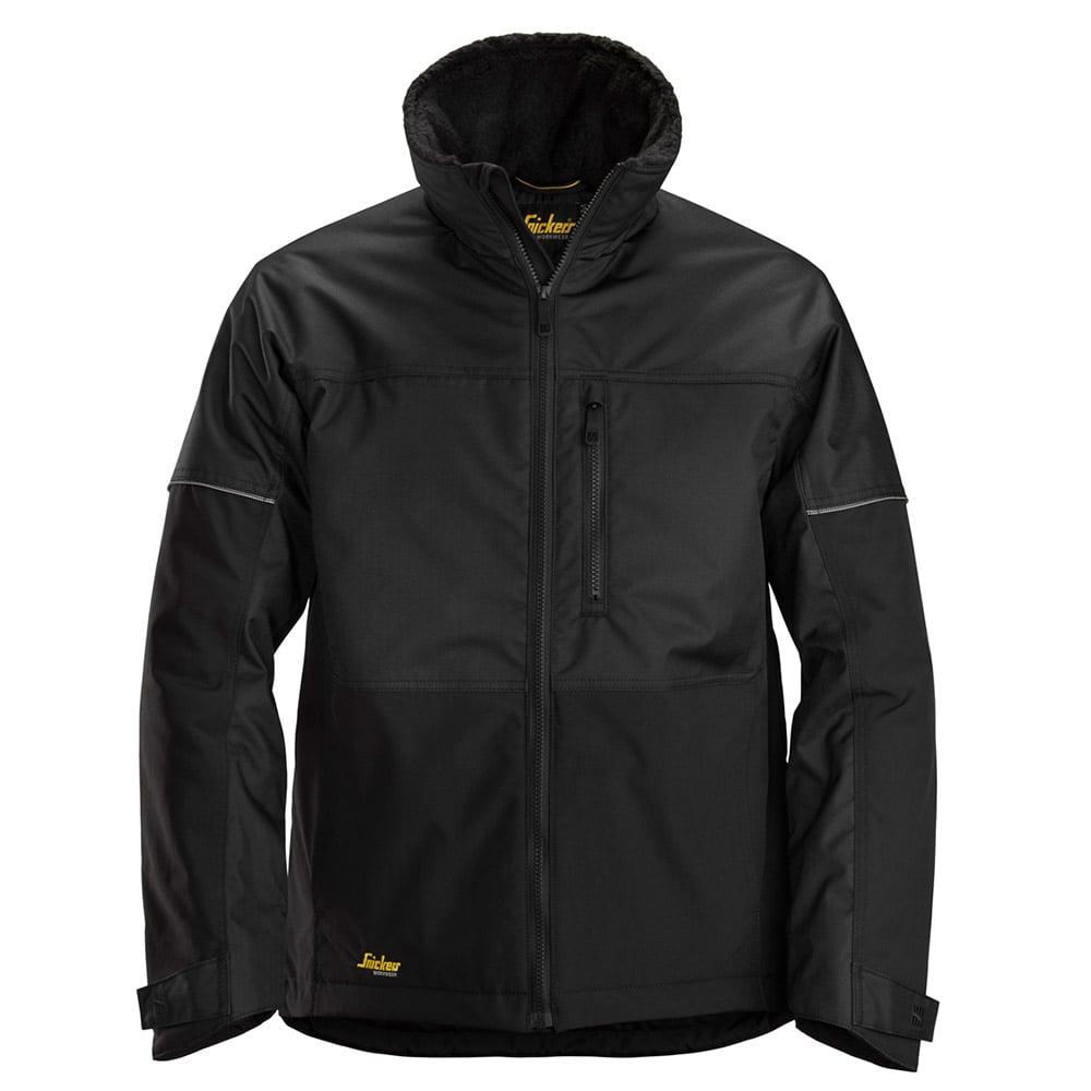 Snickers Mens Allroundwork Winter Jacket-black-s