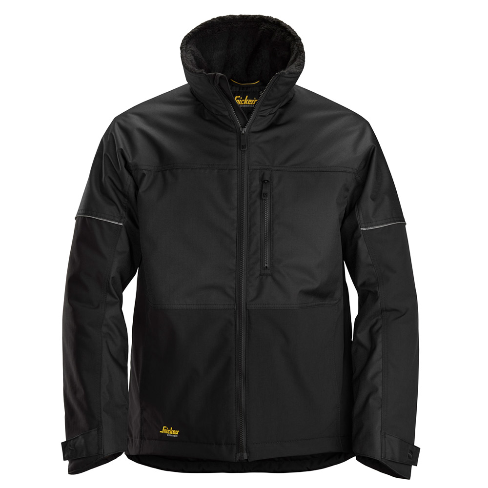 Snickers Mens Allroundwork Winter Jacket-black-m