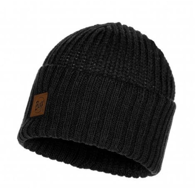 Buff Mens Rutger Knitted Hat-graphite