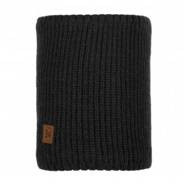 Buff Rutger Polar Knitted Neckwarmer-graphite
