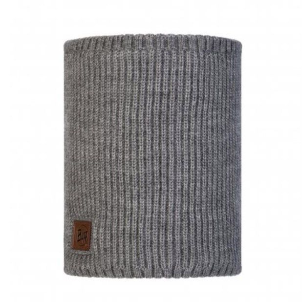 Buff Rutger Polar Knitted Neckwarmer-grey Melange