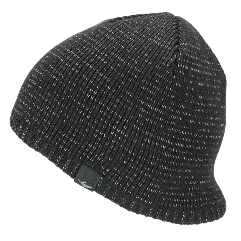 Sealskinz Reflective Cold Weather Waterproof Beanie-black-2xl