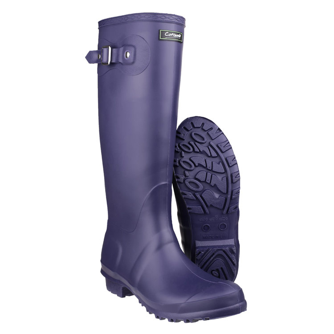 Cotswold Womens Sandringham Wellingtons - Purple - 4