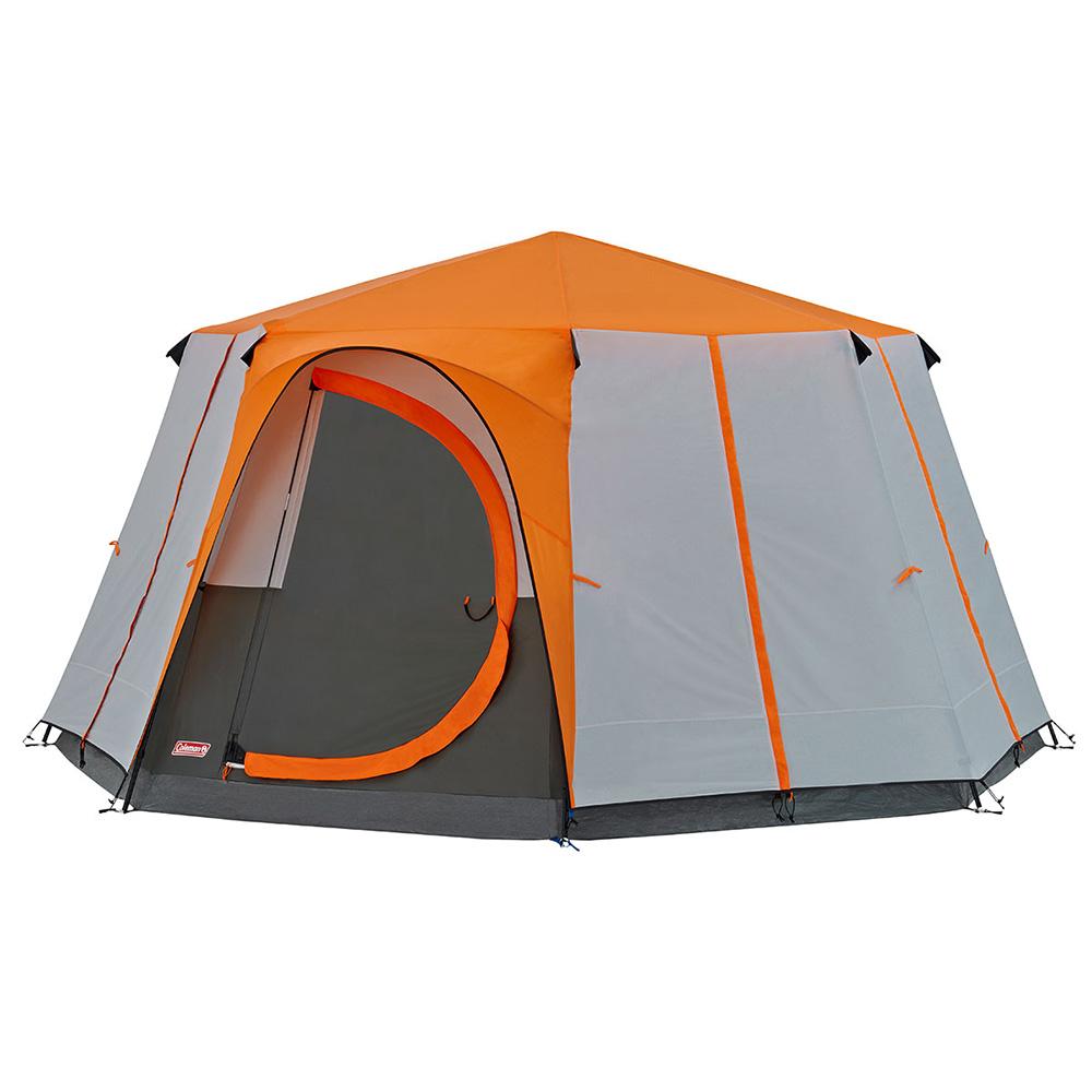 Coleman Cortes Octagon 8 Family Tent - Orange