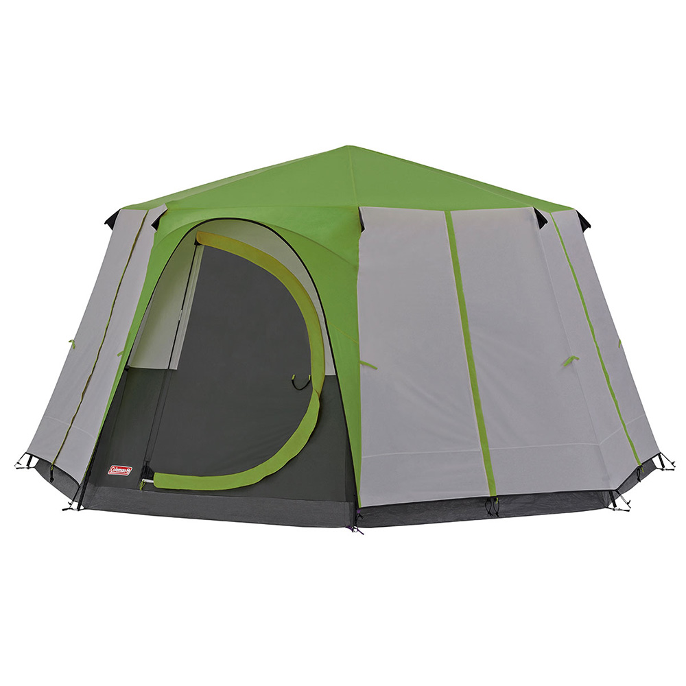 Coleman Cortes Octagon 8 Family Tent - Green