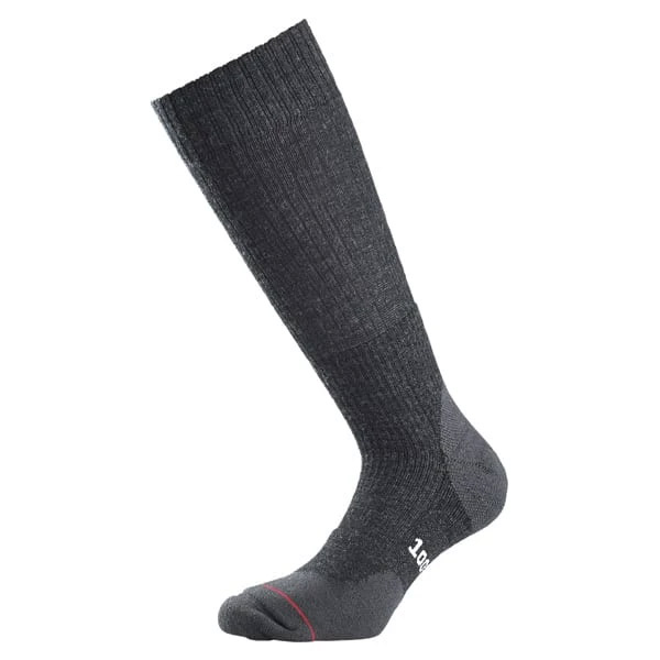 1000 Mile Mens Fusion Double Layer Walking Socks-charcoal-6 - 8.5