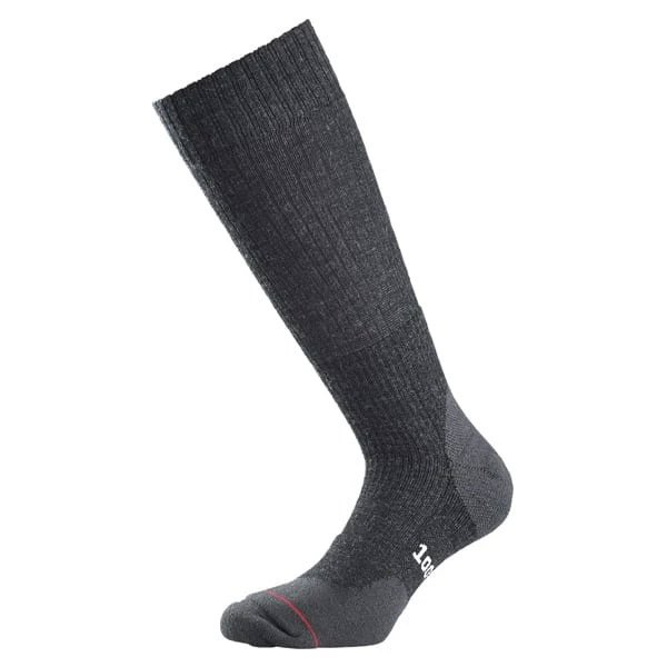 1000 Mile Mens Fusion Double Layer Walking Socks-charcoal-12 - 14
