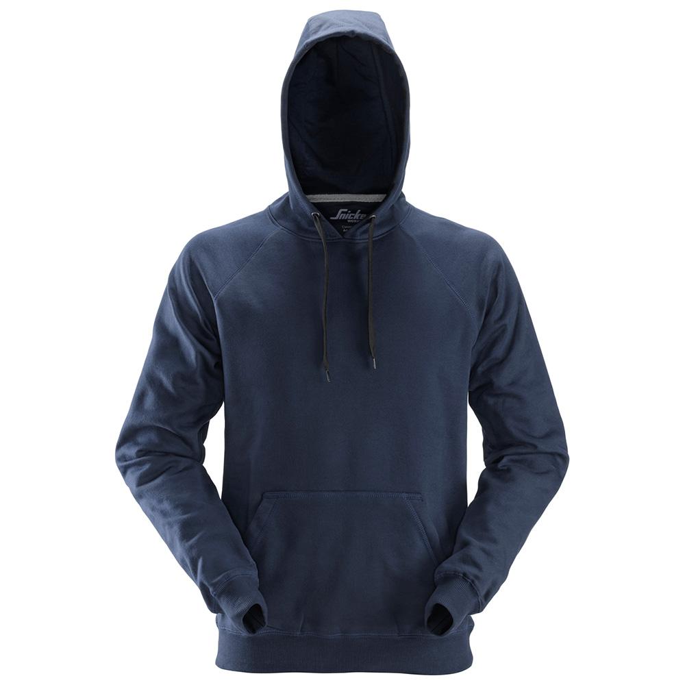 Snickers Mens Workwear Hoodie - Navy - Large