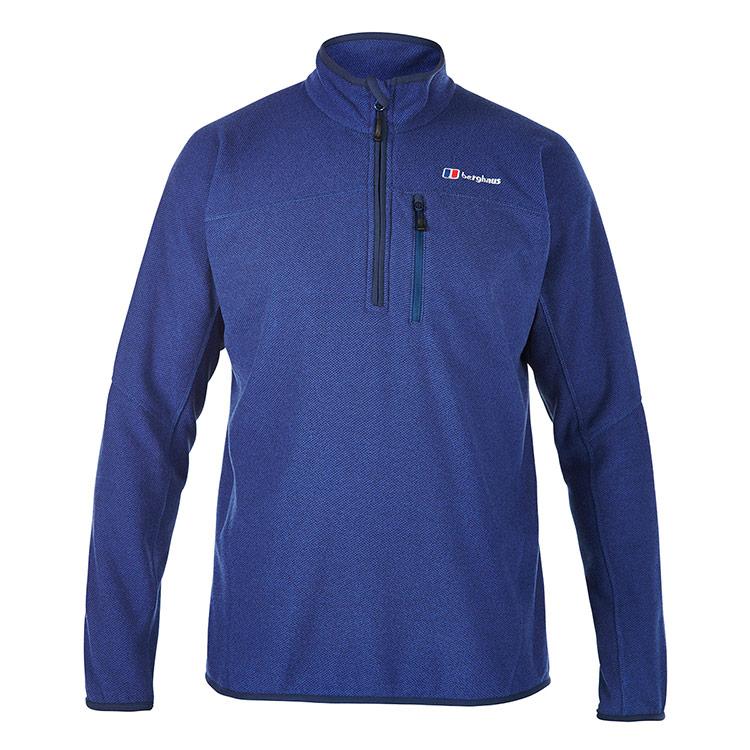 Berghaus Mens Stainton Half Zip Fleece Jacket - Dusk - S