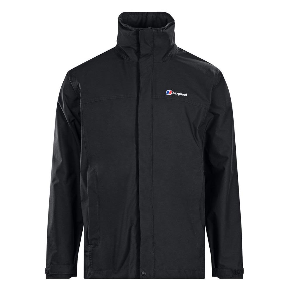 Berghaus Mens Rg Alpha Waterproof Jacket - Black - L