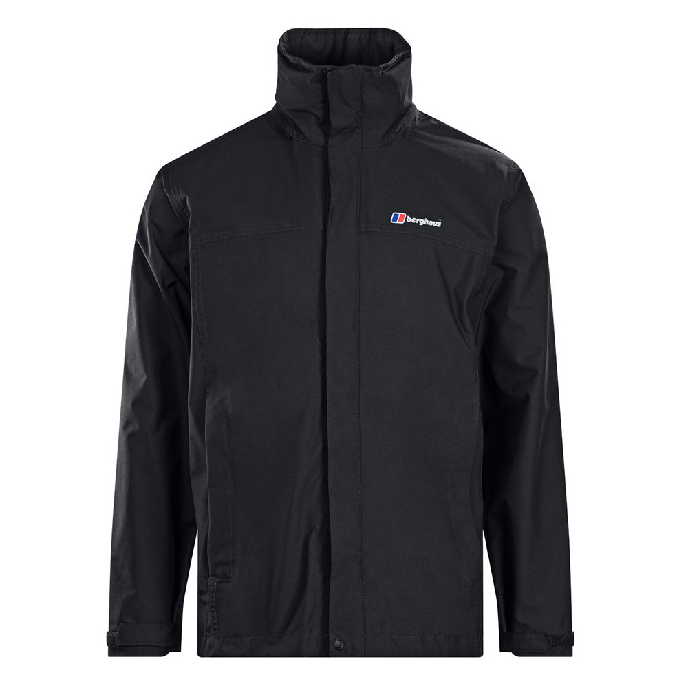 Berghaus Mens Rg Alpha Waterproof Jacket - Black - Xl