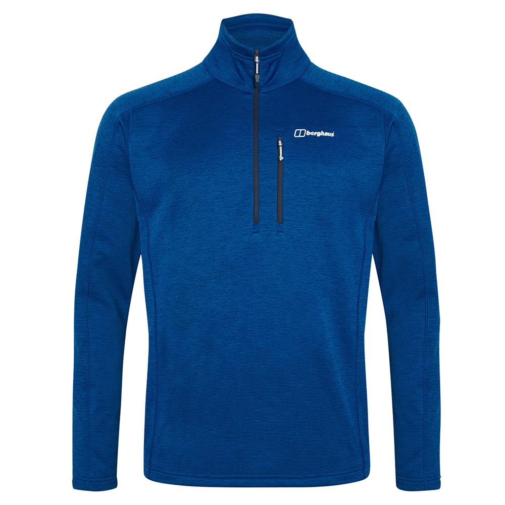 Berghaus Mens Spitzer Half Zip Fleece-sodalite Blue-s