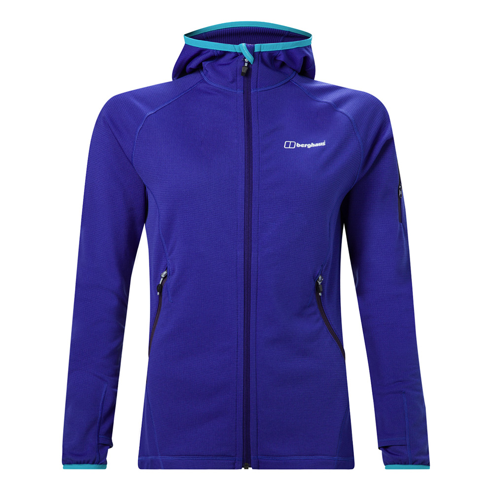 Berghaus Womens Pravitale Light 2.0 Fleece-10-blue