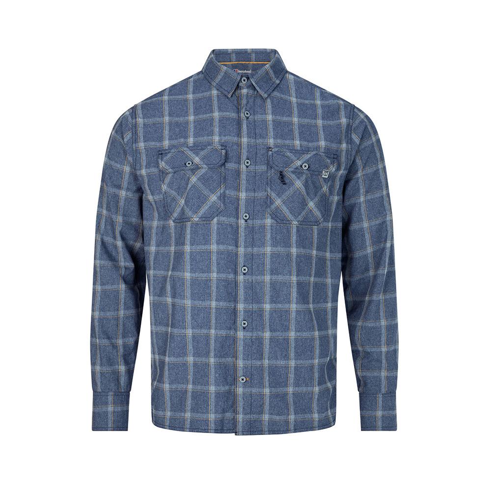 Berghaus Mens Explorer Long Sleeve Shirt 3.0-Dusk Summer Check-S