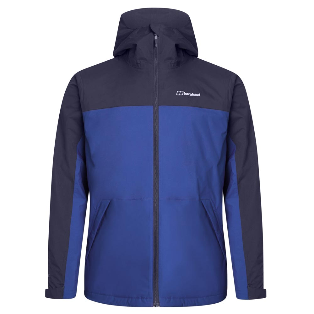Berghaus Mens Deluge Pro 2.0 Insulated Waterproof Jacket-sodalite Blue-xl