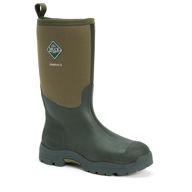 Muck Boot Mens Derwent Ii Waterproof Boots - Moss - 9