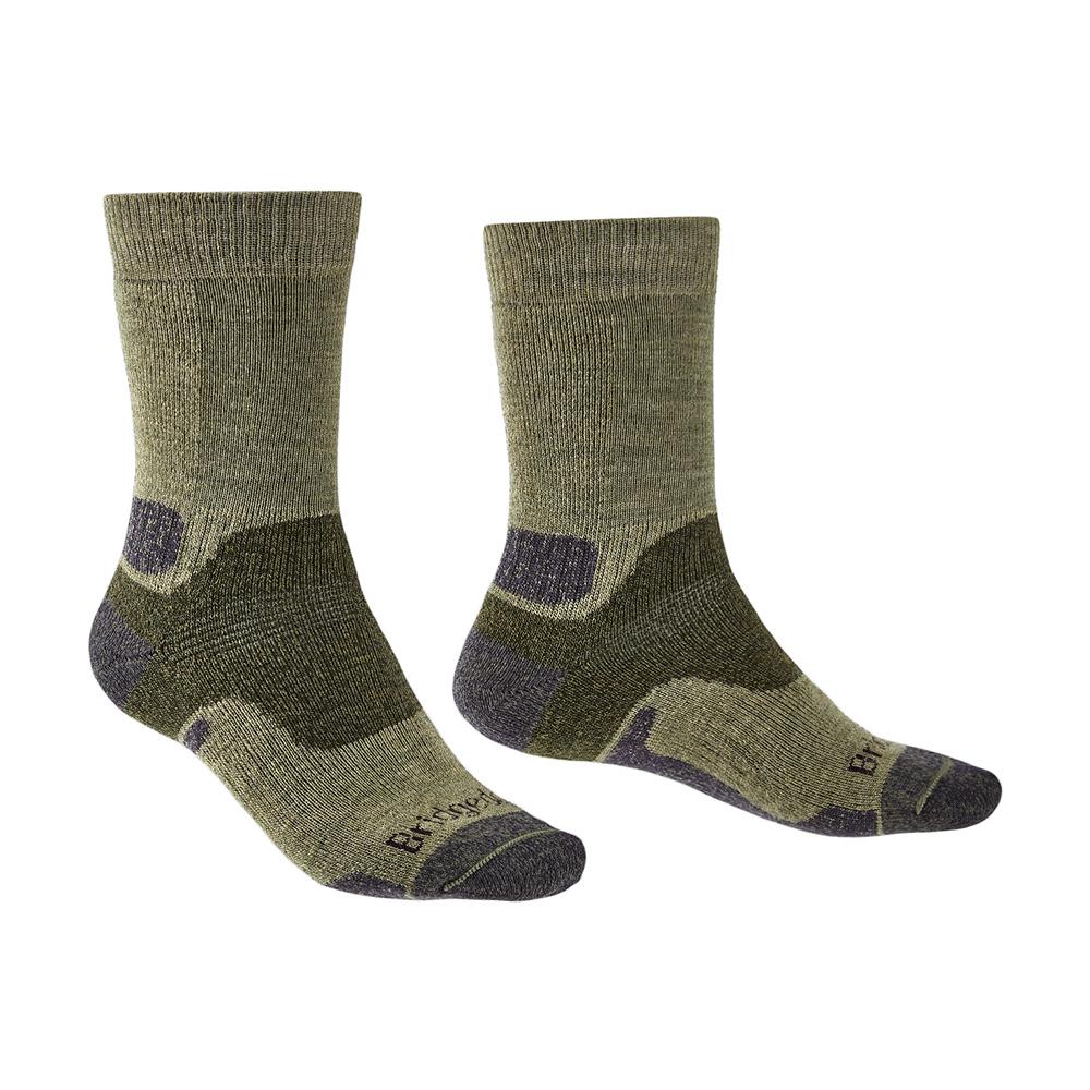 Bridgedale Mens Hike Midweight Merino Endurance Boot Socks-green-12+
