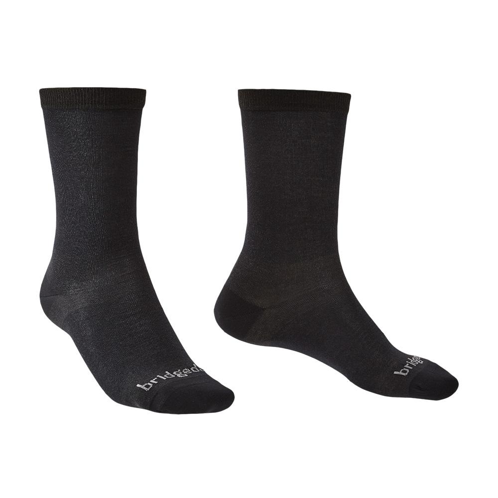 Bridgedale Mens Coolmax Liner Base Layer Boot Socks (2 Pack)