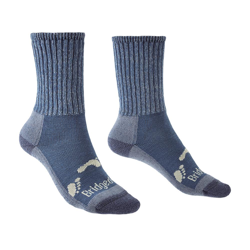 Bridgedale Junior Hike All Season Merino Comfort Boot Socks-storm Blue-12 Junior - 1 Junior