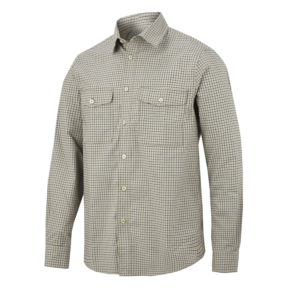 Snickers Allroundwork Comfort Checked Shirt