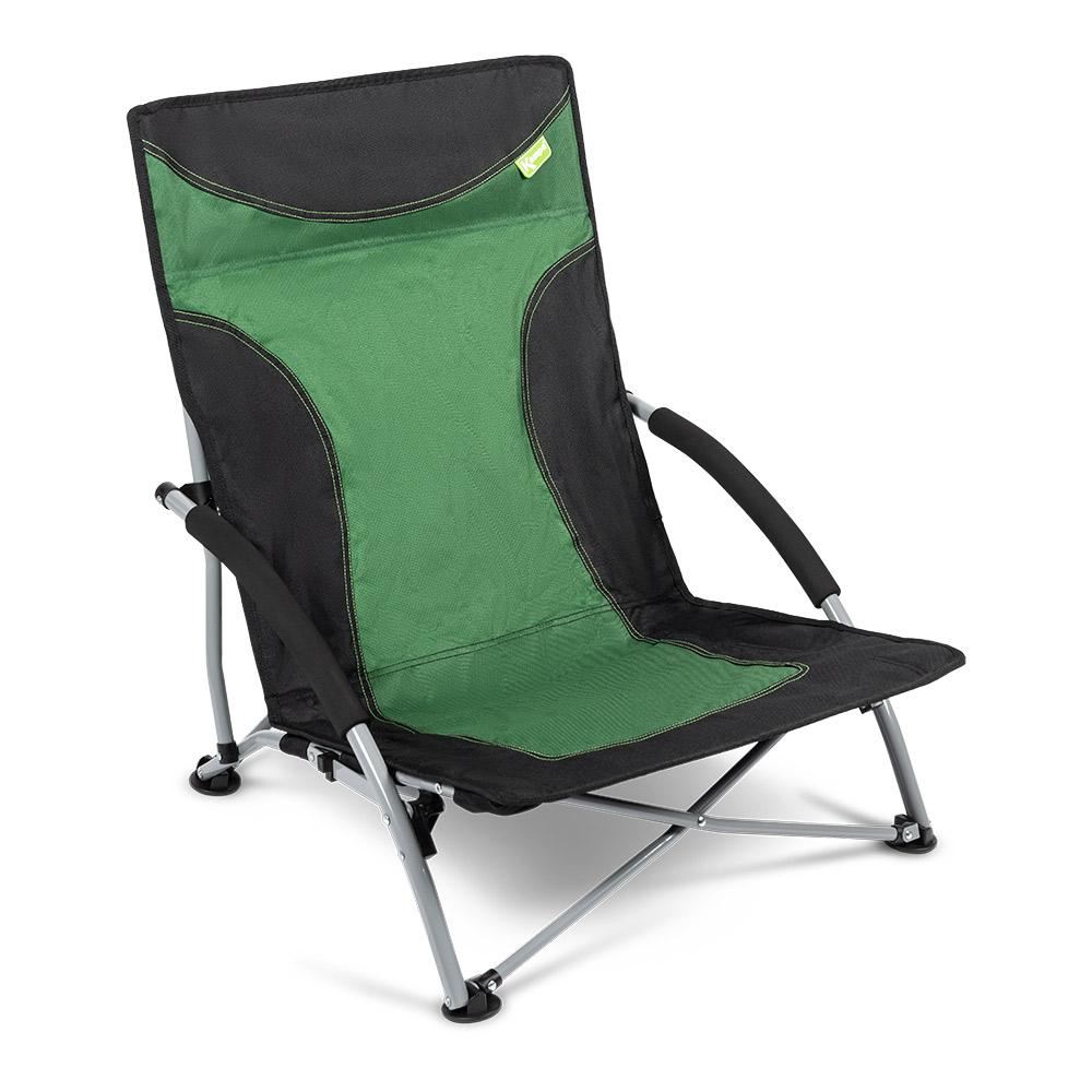 Kampa Sandy High Back Low Chair-fern