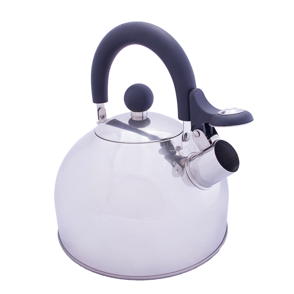 Vango 2l Stainless Steel Kettle With Folding Handle