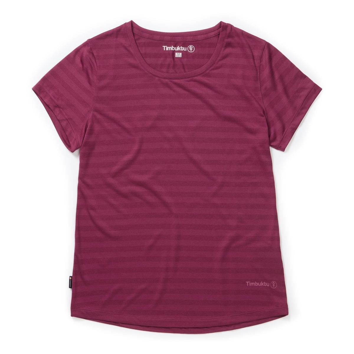 Timbuktu Womens Askia T-shirt - Berry - 8