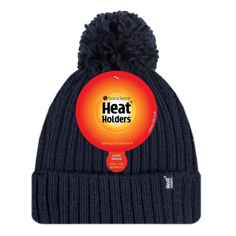 Heat Holders Womens Arden Heatweaver Hat - Navy
