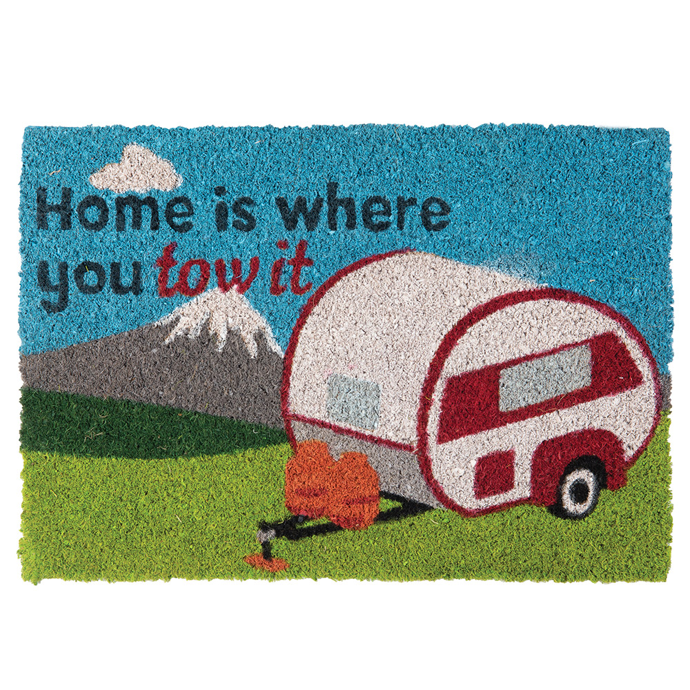 Quest Heavy Duty home Is Where You Tow It Caravan Mat