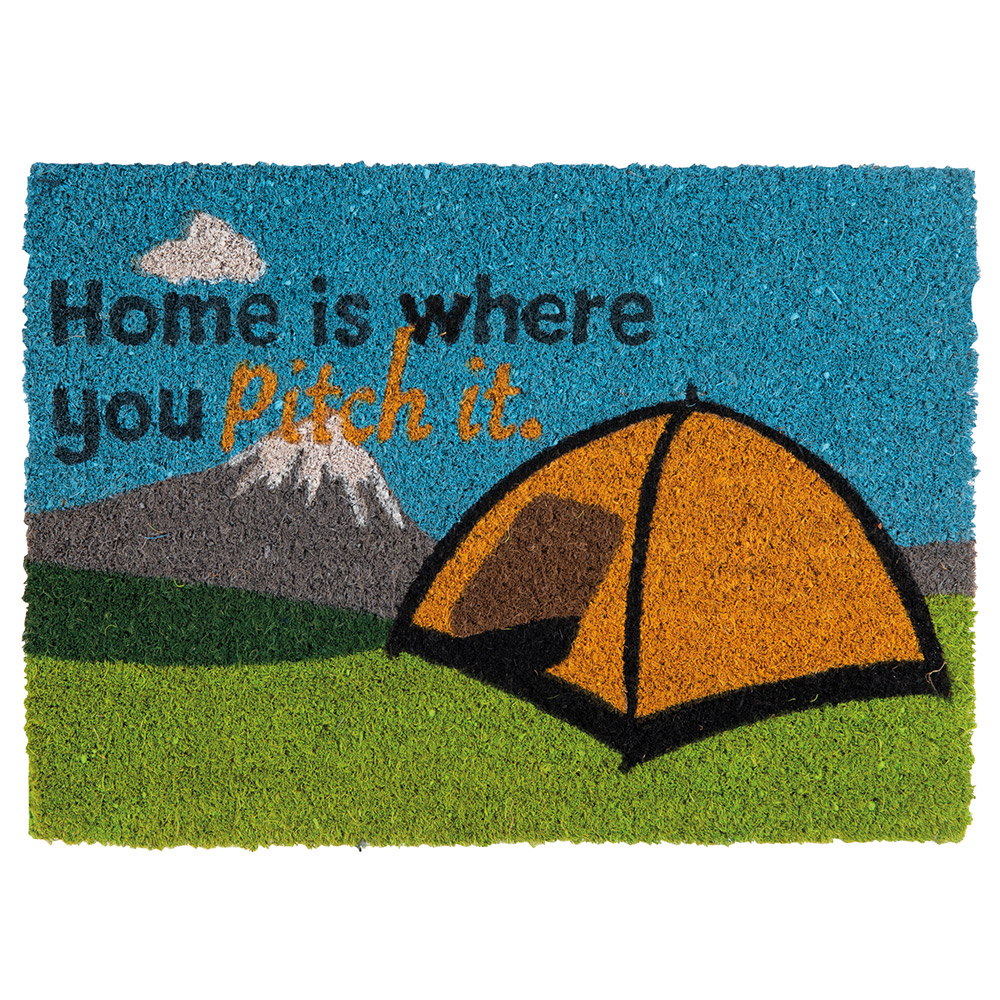 Quest Heavy Duty home Is Where You Pitch It Tent Mat