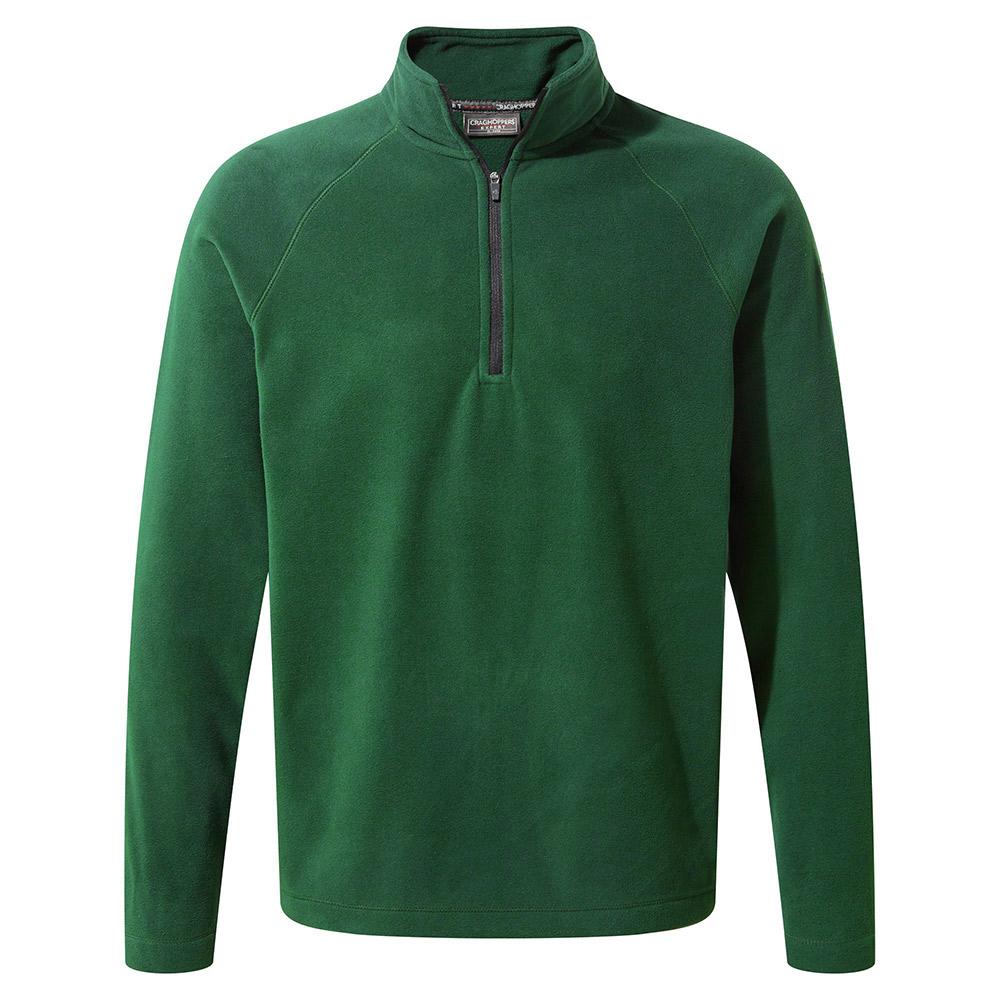 Craghoppers Mens Expert Basecamp Half Zip Fleece-green-s
