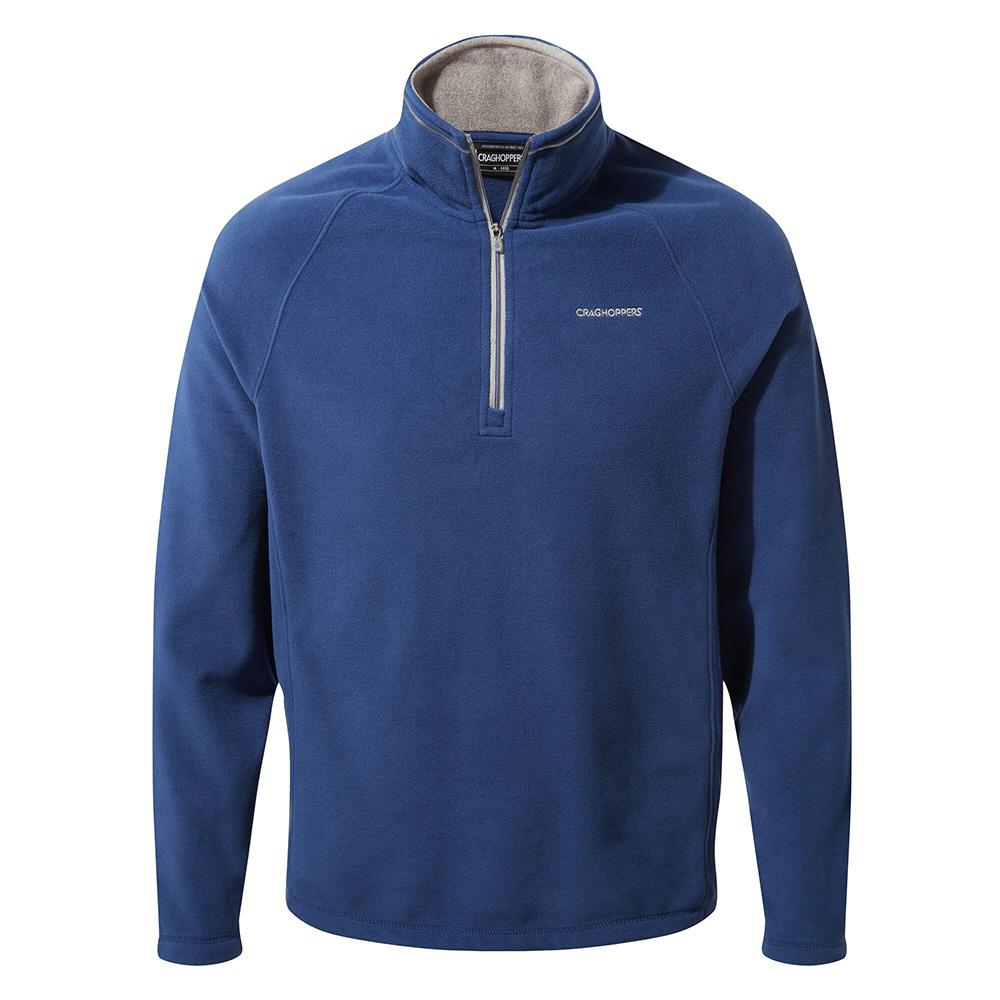 Craghoppers Mens Corey V Half Zip Fleece-lapis Blue-s