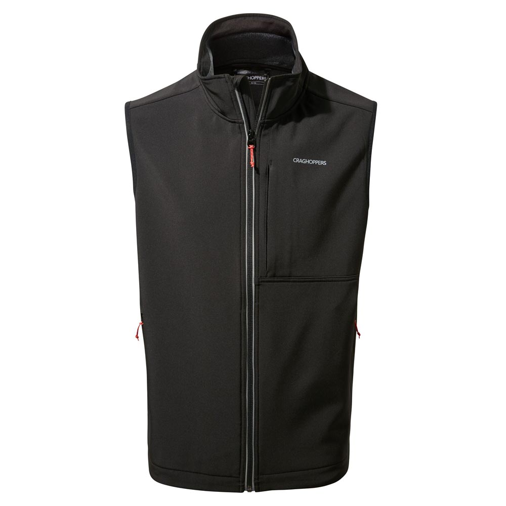 Craghoppers Mens Altis Softshell Gilet-black-l