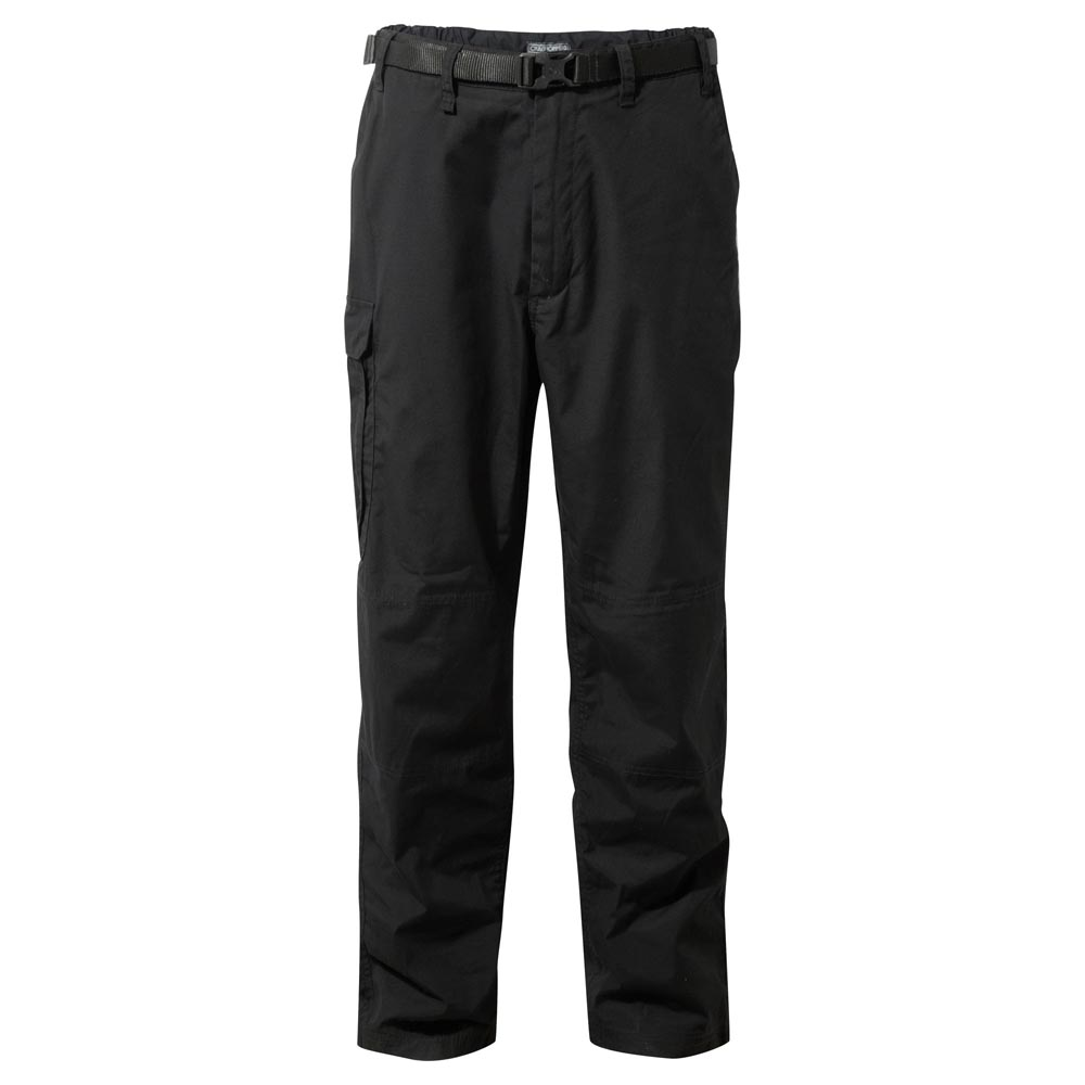Craghoppers Mens Classic Kiwi Trousers-black-30-r