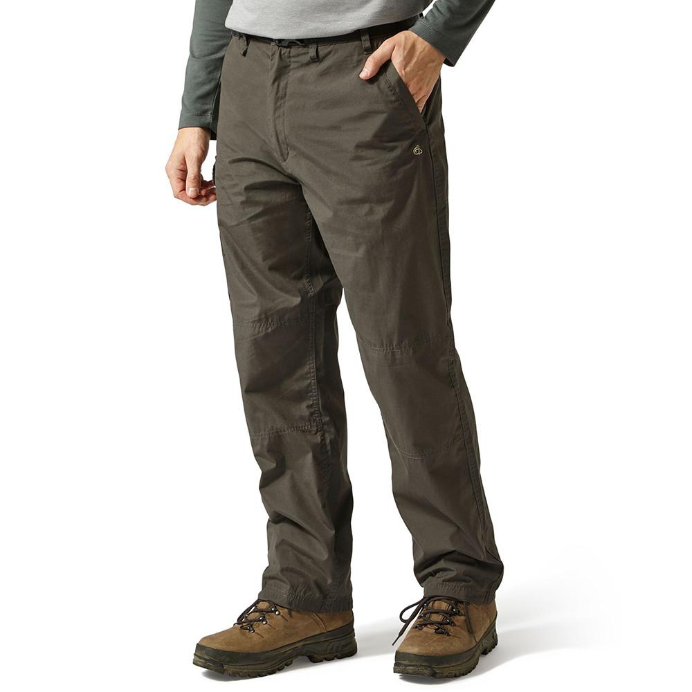 Craghoppers Mens Classic Kiwi Trousers - Bark - 40l