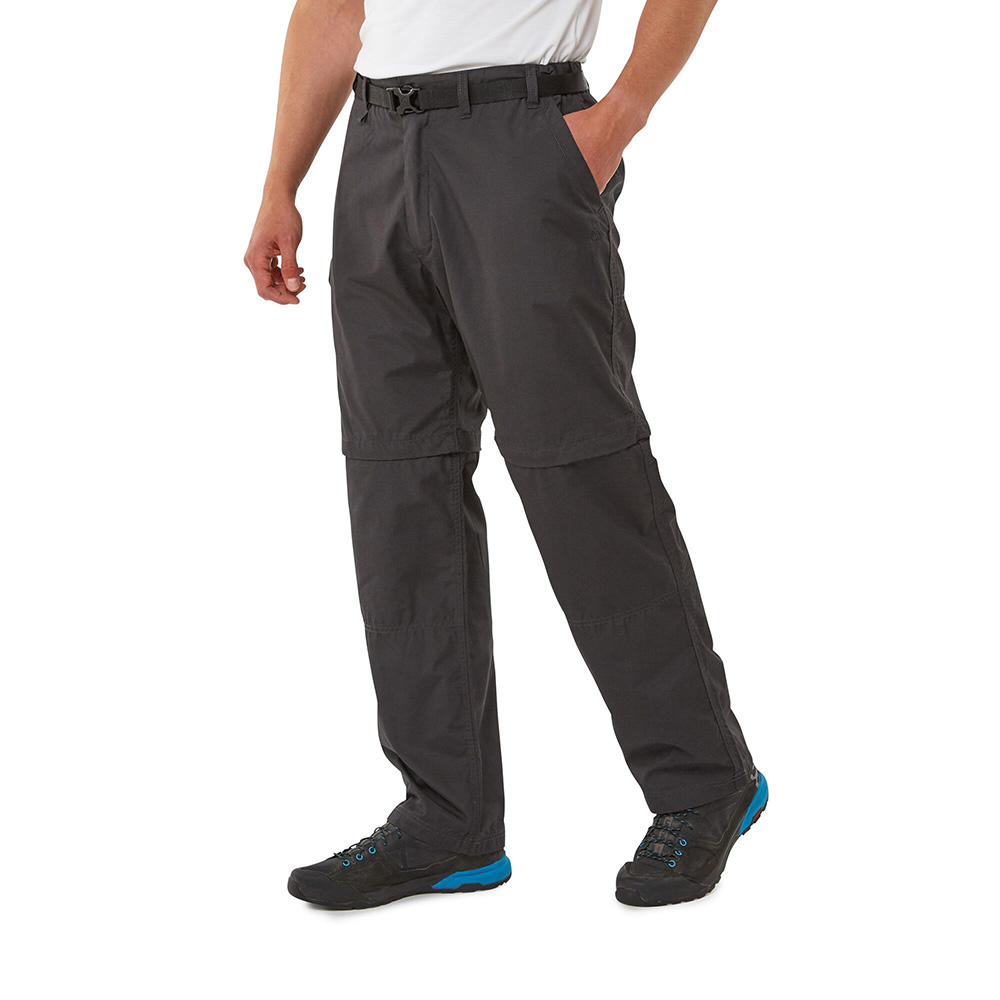 Craghoppers Mens Kiwi Long Shorts - Bark - 36