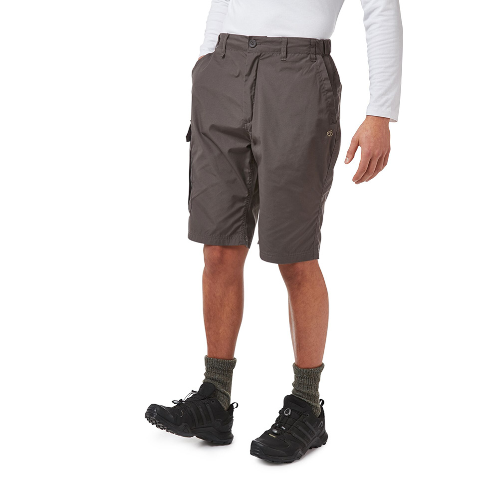 Craghoppers Mens Kiwi Long Shorts-bark-32
