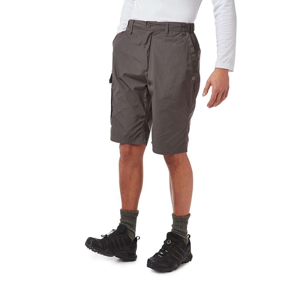 Craghoppers Mens Kiwi Long Shorts - Bark - 30