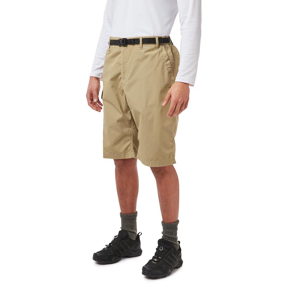 Craghoppers Mens Kiwi Long Shorts-raffia-30