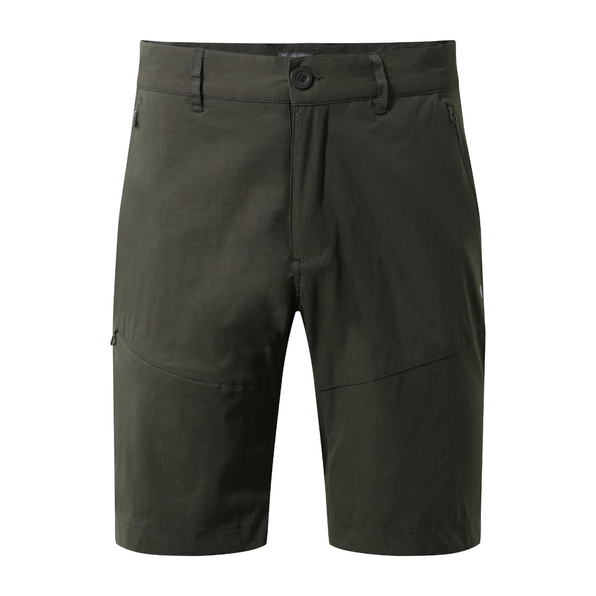 Craghoppers Mens Kiwi Pro Shorts-Dark Khaki