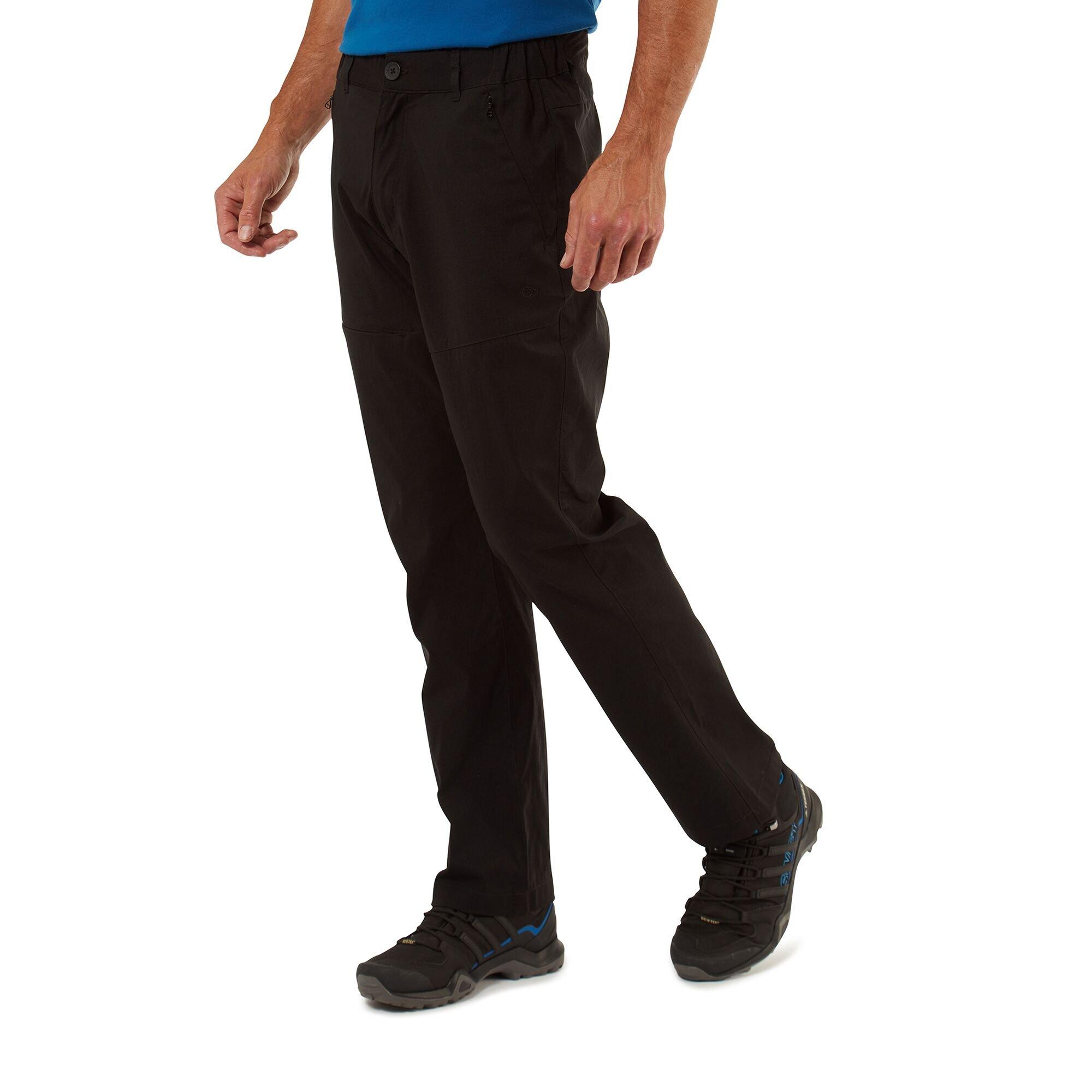 Craghoppers Mens Classic Kiwi Trousers - Bark - 36s