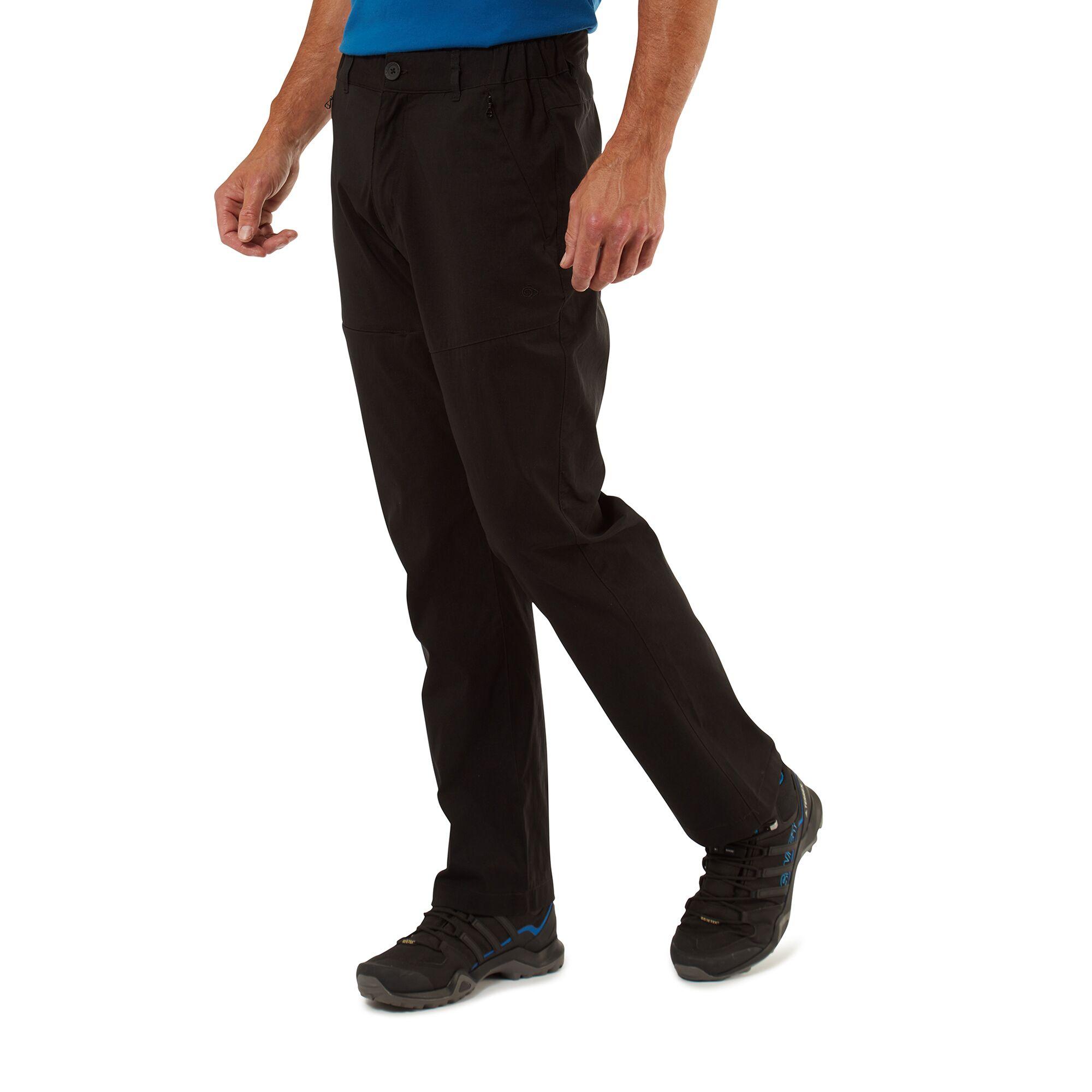 Craghoppers Mens Classic Kiwi Trousers - Bark - 34s