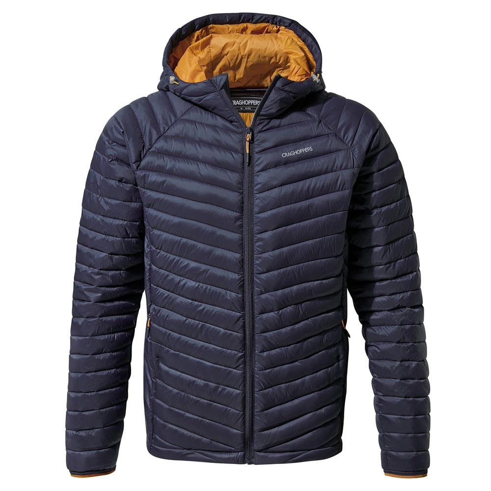 Craghoppers Mens Expolite Insulated Jacket-blue Navy / Cumin-xl