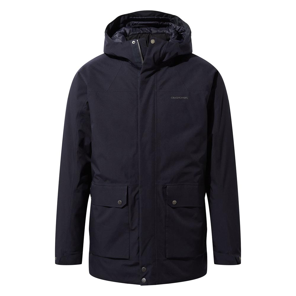 Craghoppers Kiwi Classic Ii Waterproof Jacket-black-2xl